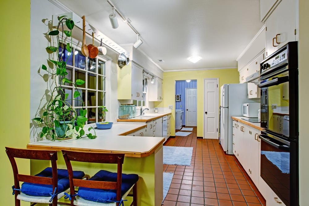 Cuisine ancienne maison aspiration centralisée